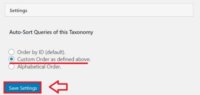 Custom Taxonomy Orderの設定と使い方5