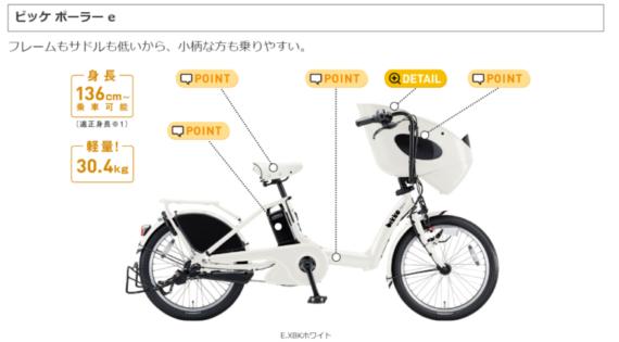 子供乗せ自転車人気ランキング5