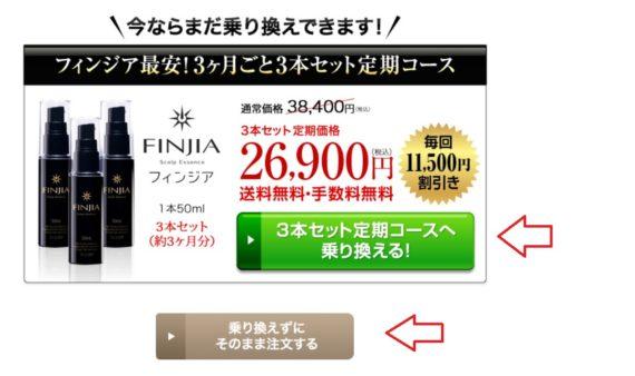 フィンジア定期コースの申し込み手順2