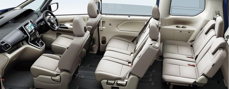 セレナc27シートレールカバーのサイズと使用感レビュー
