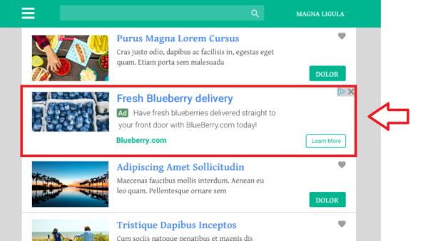 Googleアドセンスインフィード広告
