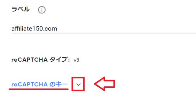 invisible reCAPTCHAの設定方法9