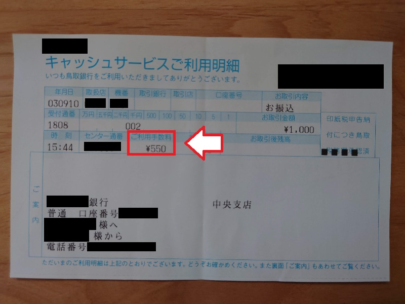 FC2ポイント銀行振り込み手数
